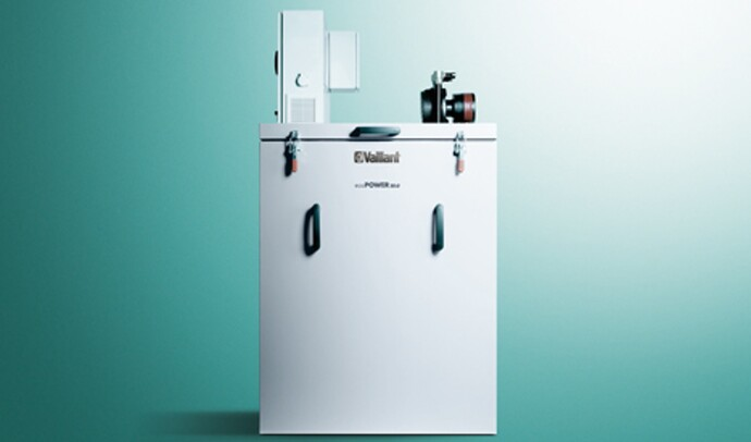 Vaillant's micro CHP for production of warmth and electricity at once