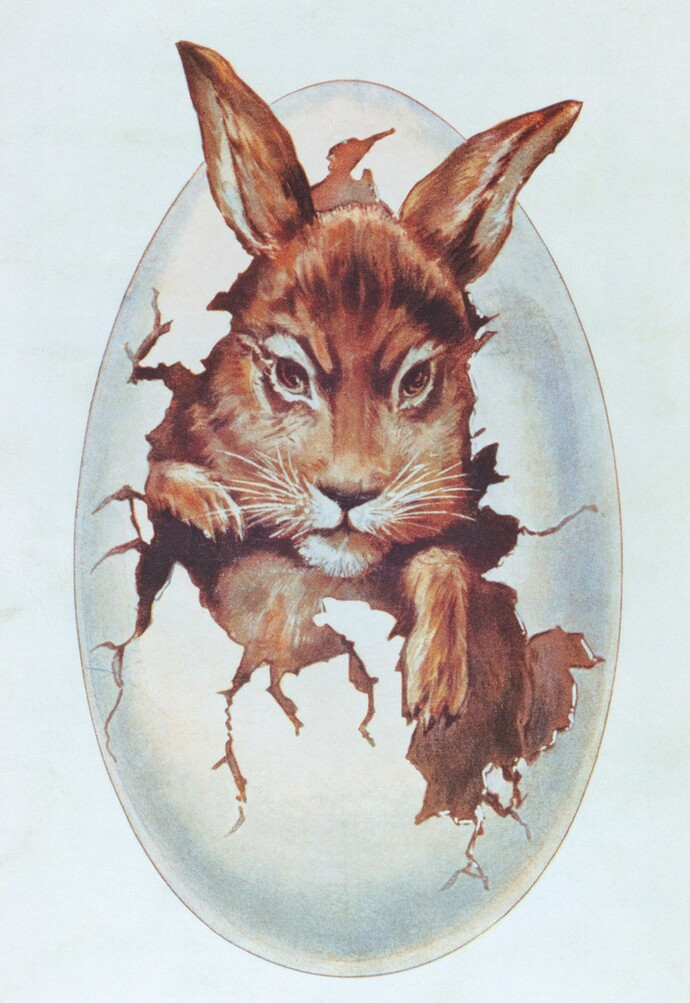 A bunny as source of inspiration for the Vaillant trademark